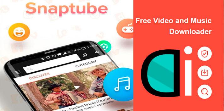 descargar vídeos y música con snaptube