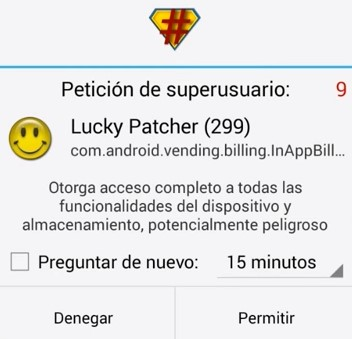 lucky patcher-superusuario