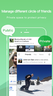 Doble espacio: captura de pantalla de múltiples cuentas y clonador de aplicaciones