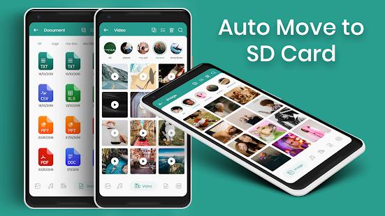 Mover automáticamente a la captura de pantalla de la tarjeta SD