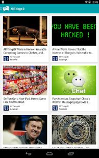 Paperboy |  Feedly |  RSS |  Captura de pantalla del lector de noticias