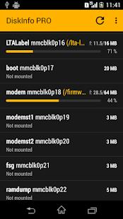 Captura de pantalla de DiskInfo PRO