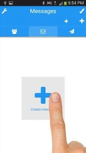 Captura de pantalla de Multi SMS & Group SMS PRO