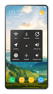 Captura de pantalla de Assistive Touch (nuevo estilo)