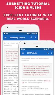Calculadora de IP y herramientas de red Captura de pantalla profesional
