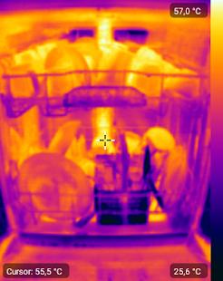 Captura de pantalla de cámara térmica + para FLIR One