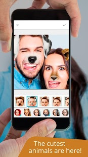 Avatares +: máscaras y efectos y cambiador de caras divertido Captura de pantalla