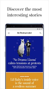 Captura de pantalla del Washington Post