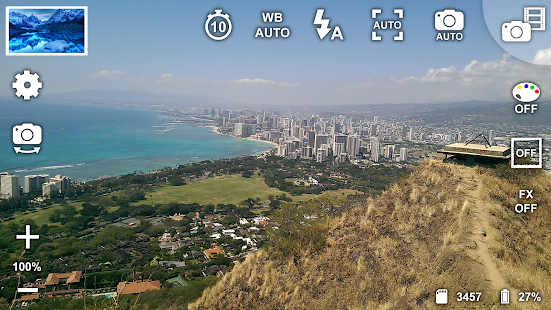 Captura de pantalla gratuita de la cámara con zoom