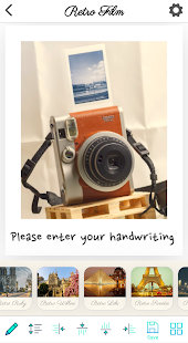 Photo Cube: cámara instantánea, captura de pantalla de tarjeta fotográfica