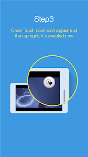 Touch Lock: bloquea la pantalla y las teclas Captura de pantalla