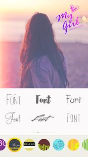 Texto en imágenes: escriba palabras y texto artístico en la captura de pantalla de la foto