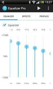 Captura de pantalla de Equalizer Pro