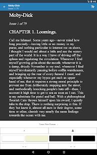 Serial Reader - Leer libros clásicos en la captura de pantalla de Daily Bits