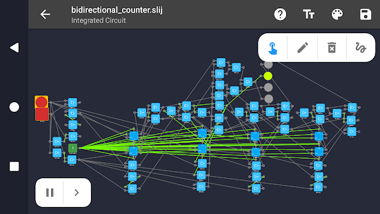 Captura de pantalla del Smart Logic Simulator