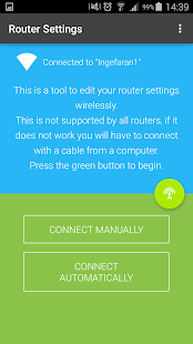 Configuración del enrutador y captura de pantalla de Setup Pro