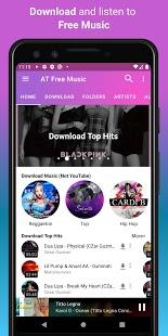 Descargar música, reproductor de música gratuito, captura de pantalla del descargador de MP3
