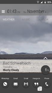 Captura de pantalla del Lightning Launcher