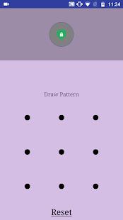 Apz Lock - Huella digital, patrón, captura de pantalla de bloqueo de PIN