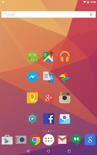 Iride UI - Captura de pantalla del paquete de iconos