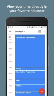 SaveMyTime - Captura de pantalla de Time Tracker