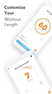 Captura de pantalla de la aplicación Sworkit Fitness - Entrenamientos y planes de ejercicio