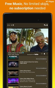 Descargador de música gratuito Descargar MP3.  Captura de pantalla del reproductor de YouTube
