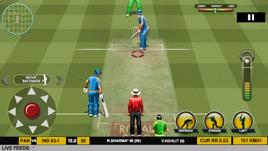 Captura de pantalla de Real Cricket ™ 17