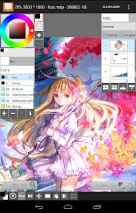 Captura de pantalla de LayerPaint HD