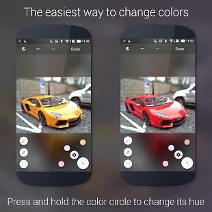 Paletta - Captura de pantalla de presentación de color inteligente
