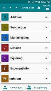 Captura de pantalla de trucos matemáticos