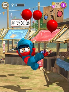 Captura de pantalla de Clumsy Ninja