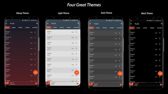 Captura de pantalla de MuZic Player Pro