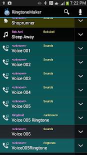 Captura de pantalla de MP3 Cutter y Ringtone Maker