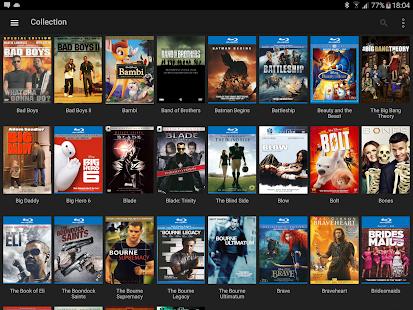 My Movies Pro: captura de pantalla de la biblioteca de colecciones de películas y TV