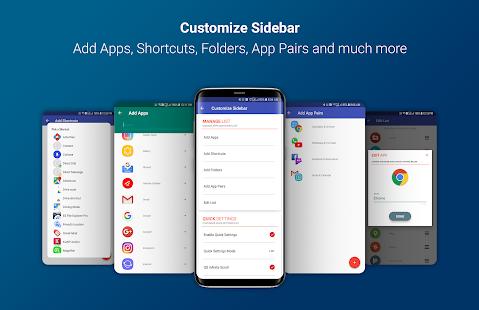 Captura de pantalla de Circle Sidebar Pro