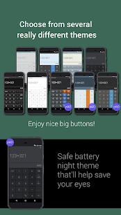 Captura de pantalla de Mobi Calculator PRO