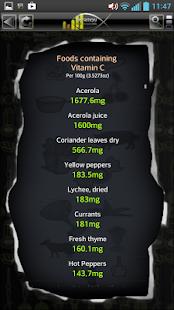 Captura de pantalla de Nutrition Pro Manager