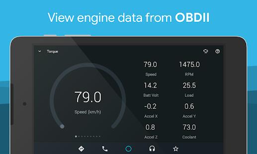 AutoMate - Tablero de instrumentos del automóvil: captura de pantalla de conducción y navegación