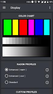 Captura de pantalla de Radon Kernel Control