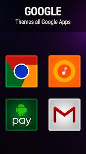 Captura de pantalla de Viper Icon Pack