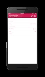 Captura de pantalla de barras de colores de estilo plano
