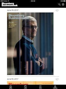 Bloomberg Businessweek + Captura de pantalla