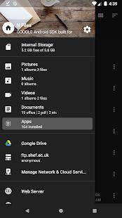 Archivos N - Captura de pantalla del Administrador de archivos y el Explorador