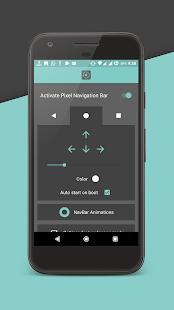 Barra de navegación de píxeles (sin raíz) ahora con captura de pantalla de animaciones