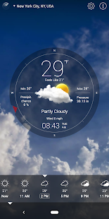 Captura de pantalla de Weather Live