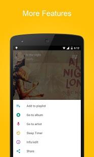 Captura de pantalla del reproductor de música SoundCrowd
