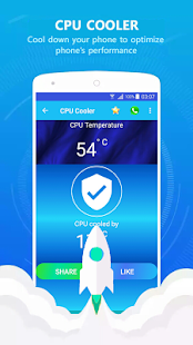 Captura de pantalla de Mobile Optimizer Pro