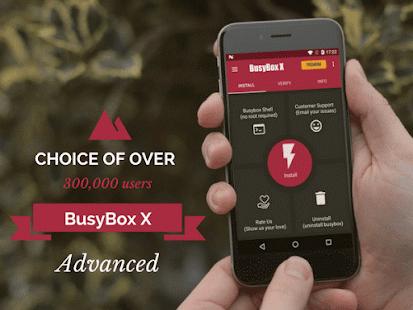 BusyBox X Pro [Root] - Captura de pantalla con 50% de descuento
