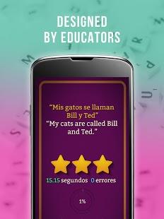 Aprender español - Captura de pantalla de Frase Master